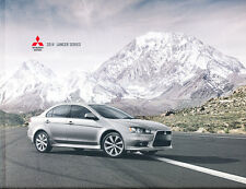 2014 Mitsubishi Lancer 20-page Car Sales Brochure Catalog - GT Raliart GSR MR
