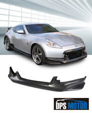 NIS Urethane Front Bumper Lip Chin Spoiler Body kits For 09-12 Nissan 370Z Z34