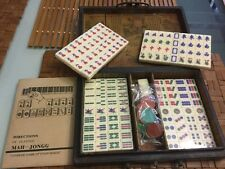 NEW TRAVELER MAHJONG SETs CREAM BAKELITE TILES 2 shrink wrapped sets available