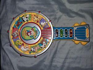 rare collectible see'n say barnyard  banjo mattel 2002 learning toy kids