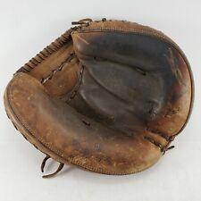 MacGregor GP Cal Neeman Autograph Catchers Mitt Glove Vintage RHT Single Hinge