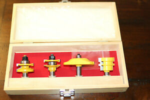 Yonico Raised Panel Ogee Router 4 Bit Set