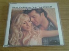 MCD - RICKY MARTIN WITH CHRISTINA AGUILERA - NOBODY WANTS TO BE LONELY - 4 Track