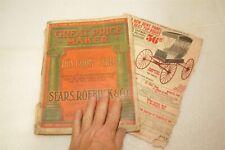 rare SEARS 1909 original antique illustrated catalog book
