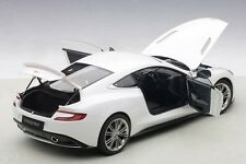 Autoart Aston Martin Vanquish Glossy White Composite Model 1/18 Scale. In Stock!