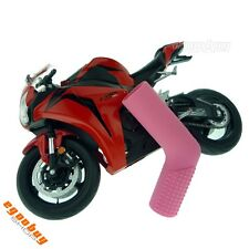 Rubber Shift Sock Boot Shoe Protector Shifter Cover Pink Universal Motorbike New
