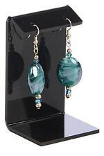 Medium Earring Display Jewelry Stand Holder Black Acrylic