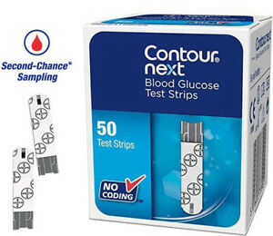 Contour Next Blood Glucose Test Strips 50 - No Extra Postage for Multi-buy