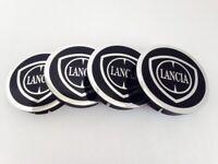 LANCIA Wheel Center Hub Centre Caps for Alloy Rims Set 4 x 60mm Alu Emblem