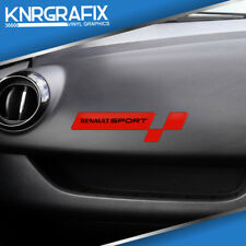 KNR0201 - Dash Sticker / Decal for RENAULT SPORT CLIO Mk4 IV RS 200 220