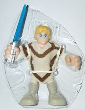 "Star Wars LUKE SKYWALKER 2.5"" Figure Playskool Galactic Heroes Tatooine Jedi"