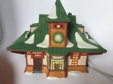 Dept 56 1990 Bahnhof Alpine Village #56154 Retired 1993