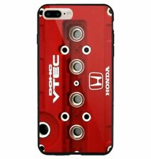 Engine Honda DOHC VTEC Red for iPhone 5 6 7 8 X XR XS MAX samsung cover case