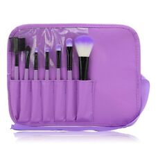 Newest 7pcs/set Makeup Blush Eyeshadow Lip Brush Cosmetic Brushes Kit + Bag Case