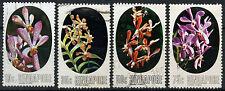 Singapore 1976 SG#272-5 Orchids Used Set #D18553