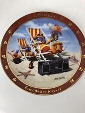 Danbury Mint Collector Plate A Day With Garfield Friends Are Forever