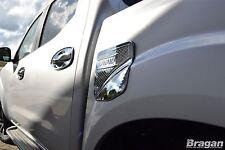 To Fit 2016+ Nissan Navara NP300 Chrome Fuel Filler Cap Cover Trim