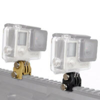 New 20mm Picatinny Rail Airsoft Adapter Kit for GoPro Action Accessories