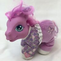 "My Little Pony Baby Alive Butterfly Blossom Talking Purple Plush 9"" Lovey 2003"
