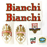 Bianchi early 1960s decals