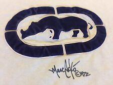 Vintage Ecko Unltd. Classic Baby Blue Rhino 3D Felt Embellished Hip Hop T-Shirt