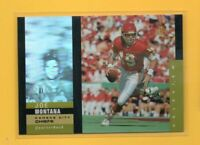 0782 1995 SP Holoviews #1 Joe Montana CHIEFS CARD BK$12.50