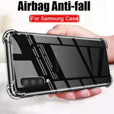 For Samsung Galaxy J4 J6 J8 A6 A8 Plus A7 A9 Shockproof Soft Clear Case Cover