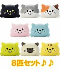 Takara Tomy Do-re-mi-fa CAT set of all 8 Musical Kitten Stuffed F/S with track