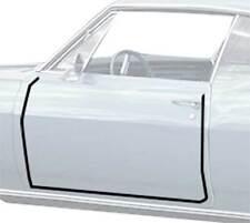 1967-68 Impala / Caprice 2 Door Hardtop / Convertible Door Frame Weatherstrips