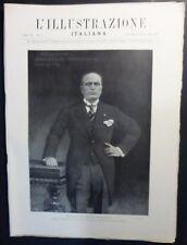 ILLUSTRAZIONE ITALIANA - N 9/1928- MUSSOLINI RITRATTO DA CORCAS - DIGA VELINO