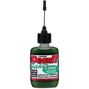 Hosa F100L-L25C DeoxIT FaderLube Needle Dispenser 25ml
