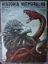 Historia niemoralna - Barbara Sas - Polish Poster - Pagowski