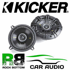 "Kicker 40CS54 5.25"" inch 13cm 225 Watts 2 Way Car Coaxial Speakers Pair Grilles"