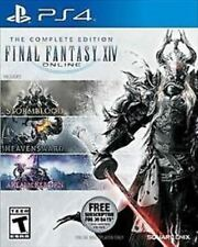 Final Fantasy Xiv Online: Complete Edition Used Sealed (Sony PlayStation 4) Ps4