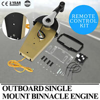 FOR MERCURY Single Binnacle Outboard Engine Console Remote Control Box 8M0059686