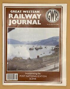 GWR Great Western Railway Journal Magazine 1998 Issue No.s 25 26 27 28