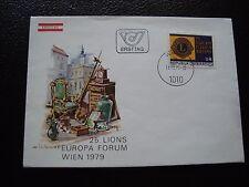 AUTRICHE - enveloppe 1er jour 11/10/1979 (B4) austria (A)