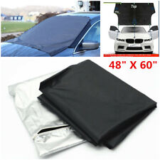 Universal Car Truck Windshield Snow Cover Ice Frost Magnetic Tarp Flap Sun Shade