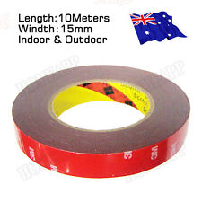 3M Genuine Automotive Acrylic Plus Double Face Sided Tape 15mm 10Meters AU STOCK