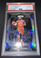 2017 Panini Prizm Lebron James Silver Prizm PSA 10, Cavaliers World Champion