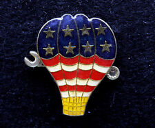 HOT AIR BALLOON AP MECHANIC ENGINEER MOTOR T WRENCH HAT PIN UP WING AIR CREW WOW