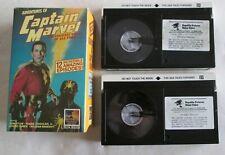 Adventures of Captain Marvel Shazam Beta Movie Serial 2-Tape Set Republic DC