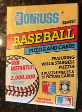 Donruss Baseball Cards and Puzzle Series 1 1991 Sealed!