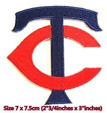 Minnesota Twins TC Baseball Sport Embroidery Patch logo iron,sewing on fabric