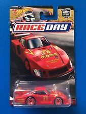 2017 Hot Wheels Car Culture RACE DAY 1978 PORSCHE 935/78 LE MANS - mint on card!