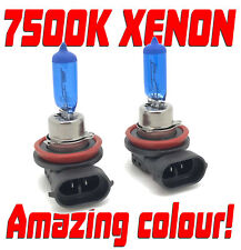 H11 H8 7500K XENON WHITE FRONT FOG LIGHT BULBS HID-LOOK For Toyota YARIS 2005+