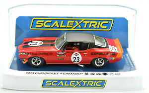 "Scalextric ""Martini"" 1973 Chevrolet Camaro DPR W/ Lights 1/32 Slot Car C4216"