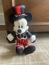 Mickey Mouse Day Of The Dead Halloween Disney Parks Plush