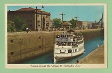 "Postcard Touring through the ""Hiram M. Chittenden Locks"""