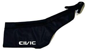 Bonnet Mask Hood Bra w/ Embroired Emblem  Honda Civic EK 1996 1997 1998